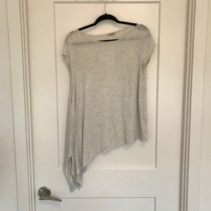 Anthropologie high-low cotton tee